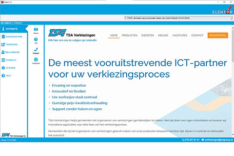 Screenshot Elektor softwarepakket